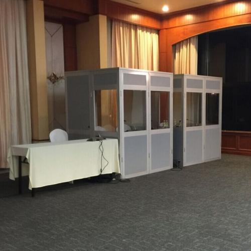 Conference Interpreters Booths